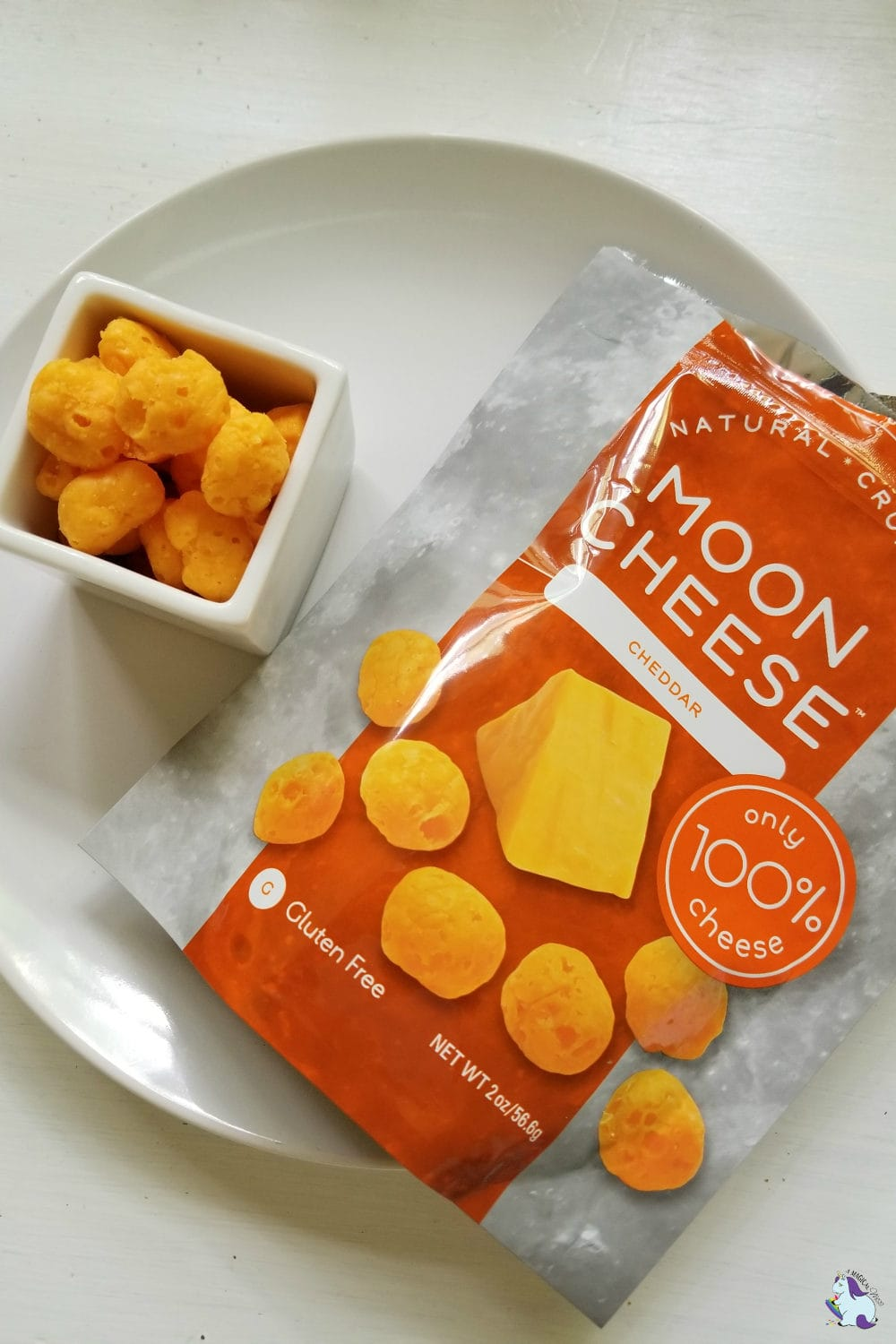 Cheddar Moon Cheese - great for school lunches
