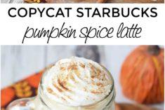 Copycat Starbucks Pumpkin Spice Latte Recipe