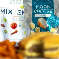 Juiciest and most flavorful homemade burger recipe with Moon Cheese