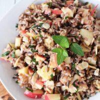 Honey Mint Wild Rice Salad Recipe