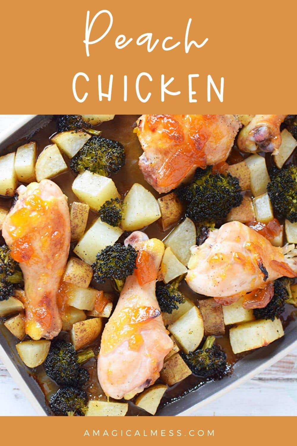 sheet pan dinner with chicken and veggies