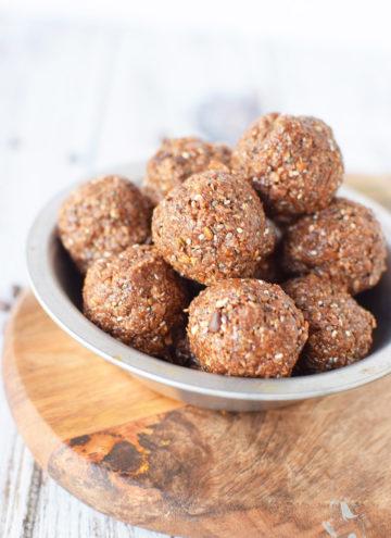 Double Chocolate Energy Balls Recipe