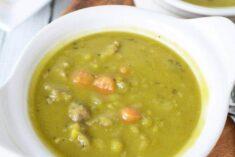 Split pea soup recipe with sausage