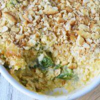 Cheesy Broccoli Rice Casserole Recipe