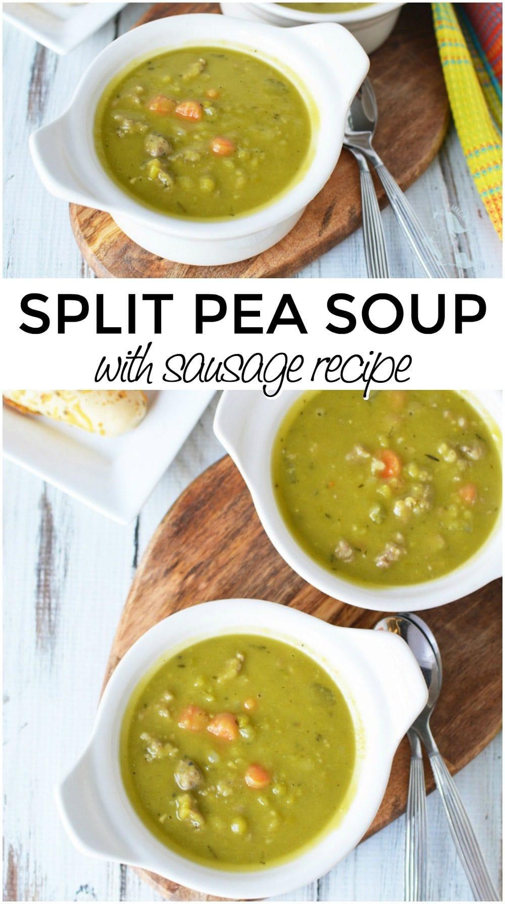 Split Pea Soup with Sausage Recipe