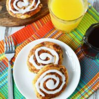 Super easy and crowd pleasing cinnamon roll French toast recipe