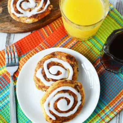 Addicting and Easy Cinnamon Roll French Toast Recipe