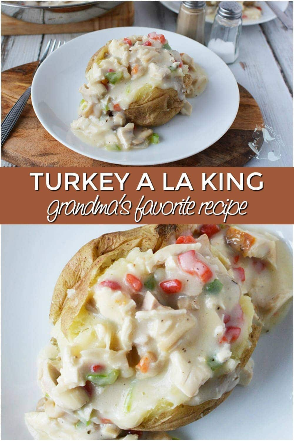 Grandma's Best Turkey a la King Recipe