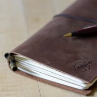 Travel Gifts for Women with Wanderlust - a good journal is a must