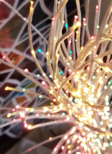 Pretty holiday lights
