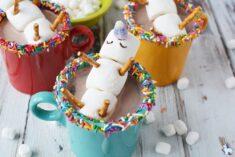 Magical Melting Unicorn Hot Chocolate Recipe