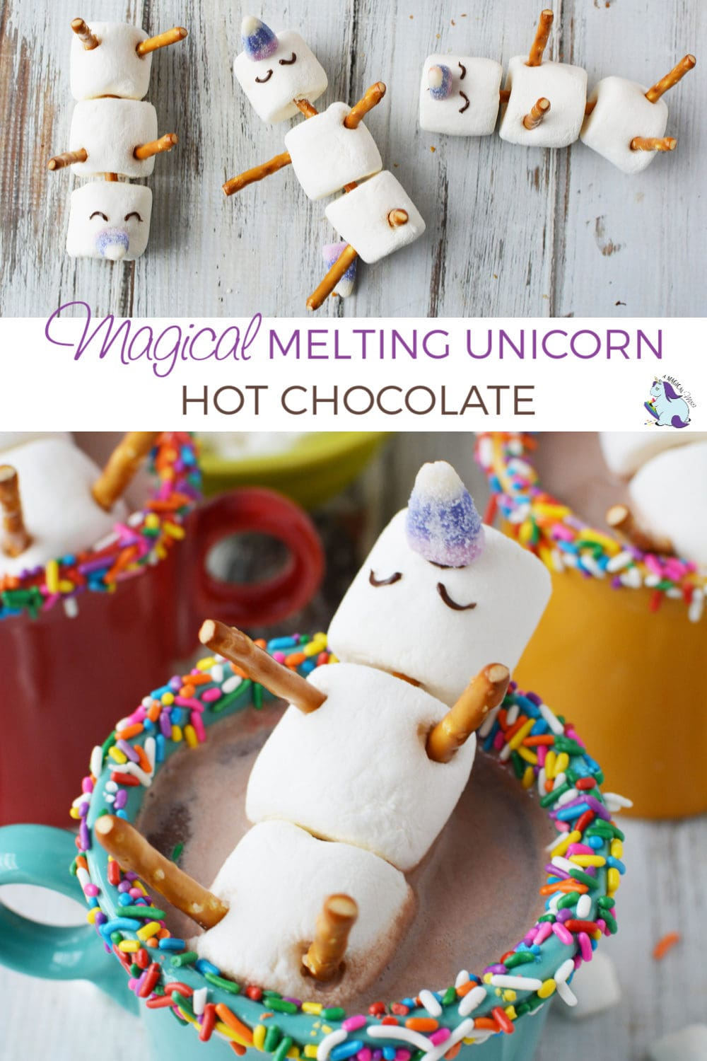 Adorable and Magical Unicorn Hot Chocolate Recipe