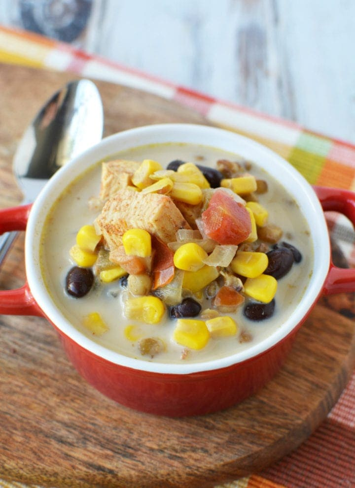 Slow Cooker Southwest Chicken Lentil Chowder Recipe