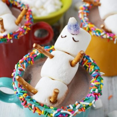 Magical Melting Unicorn Hot Chocolate Recipe