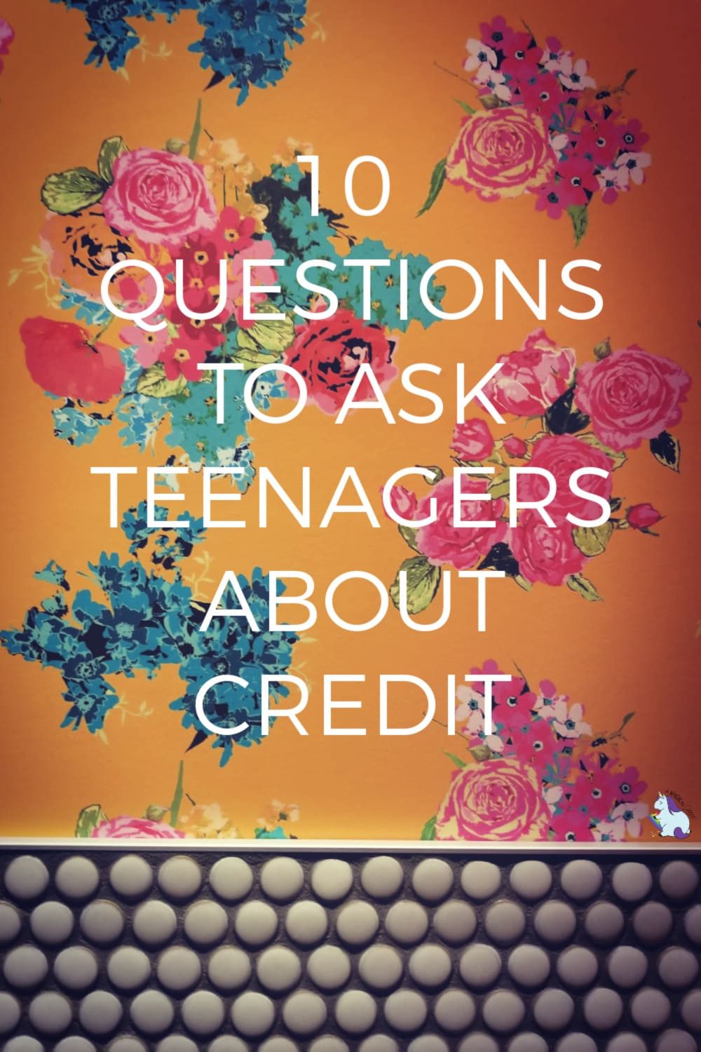 It's never too early to start the convo about credit and finances with your kids! She's asks her kids these 10 questions... #CreditRepair #Educational #finances #teens #money #credit #parenting
