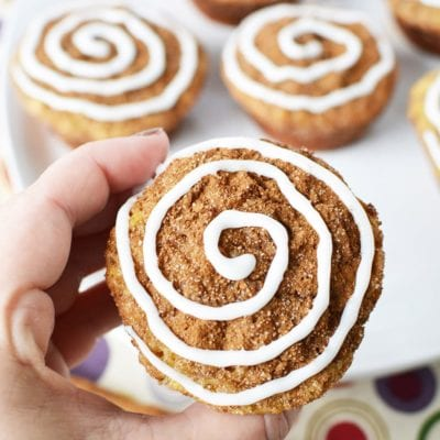 Cute and Inviting Cinnamon Roll Muffins Recipe