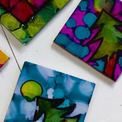 Alcohol Ink Ideas for Creative DIY Gifts