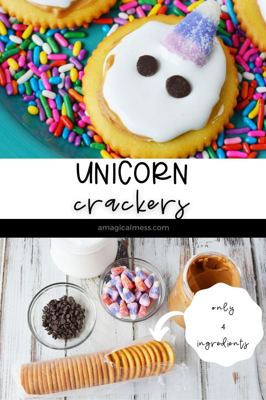 ingredients for unicorn crackers