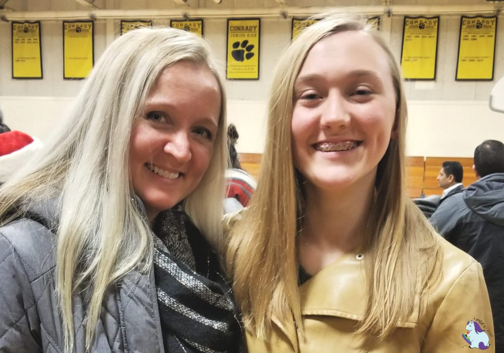 Mom and daughter, Shelley VanWitzenburg and Chesney Gooding