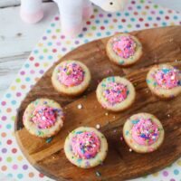 Unicorn party cookie cups