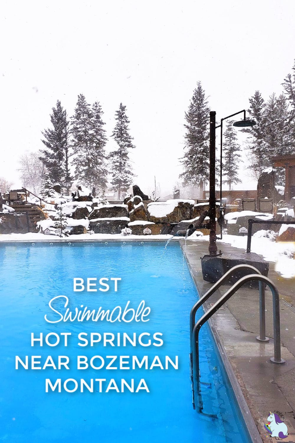 best swimmable hot springs in Montana