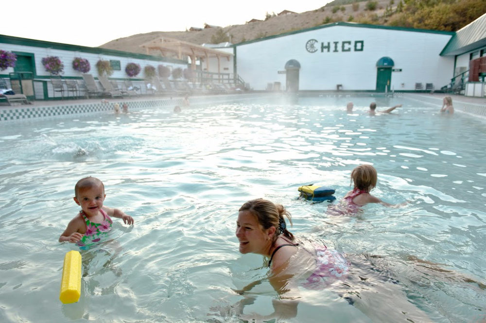 Chico Hot Springs in Emigrant, Montana
