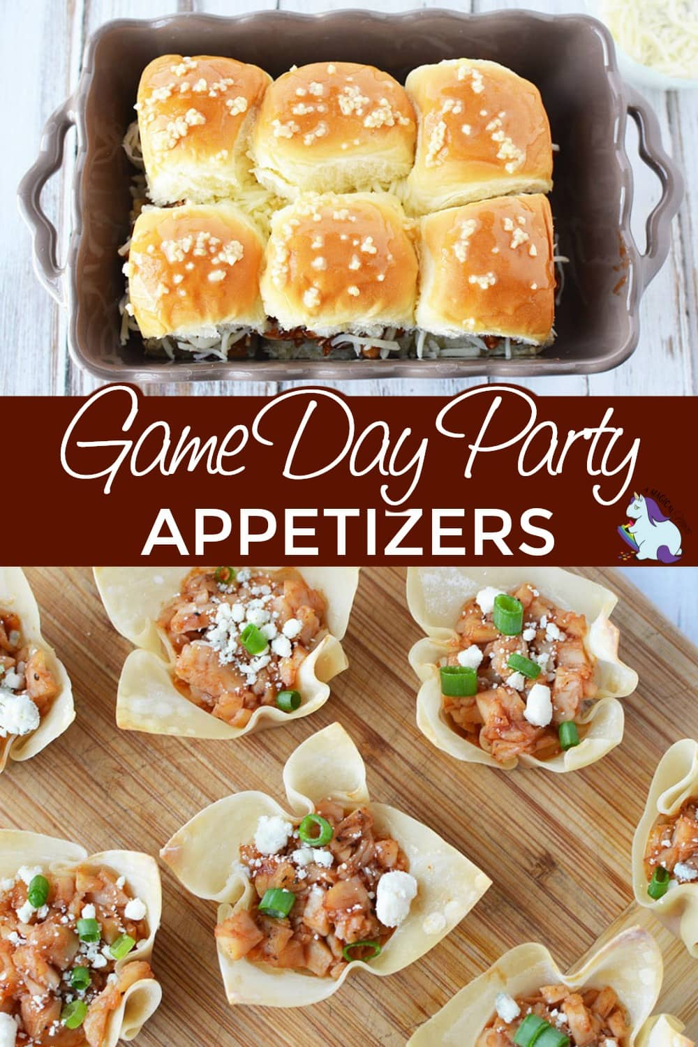 Sliders and bites that are great for game day snacks.