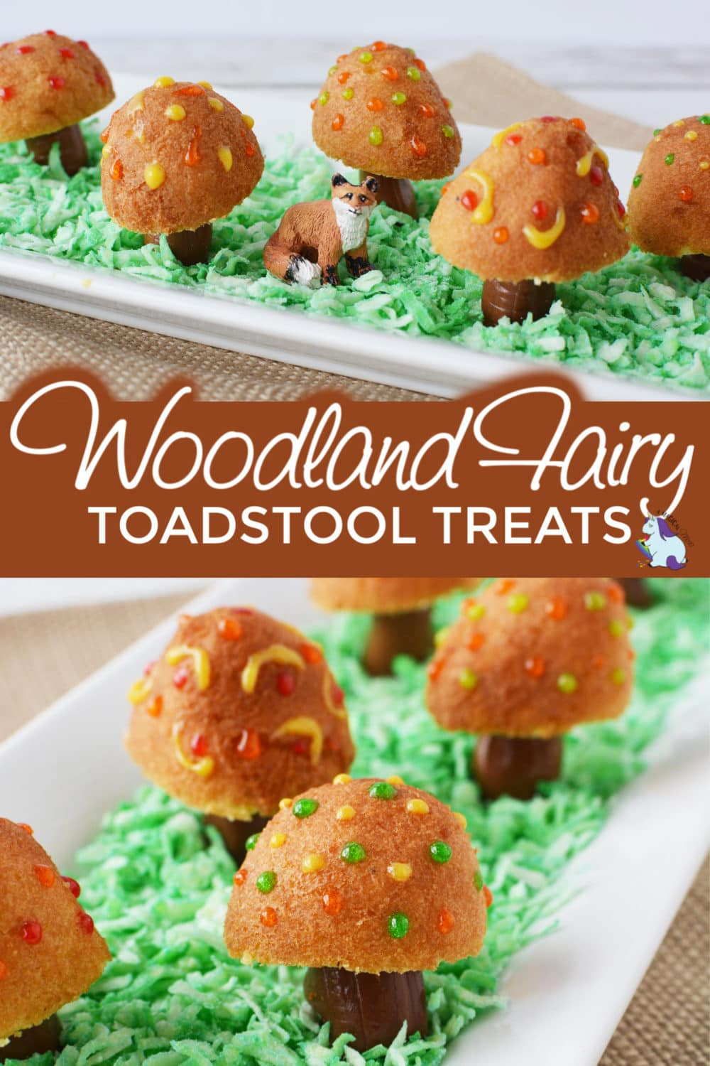 Woodland fairy Toadstool treats