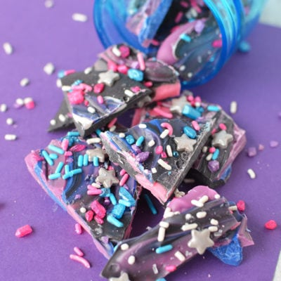 Galaxy Bark Candy Recipe