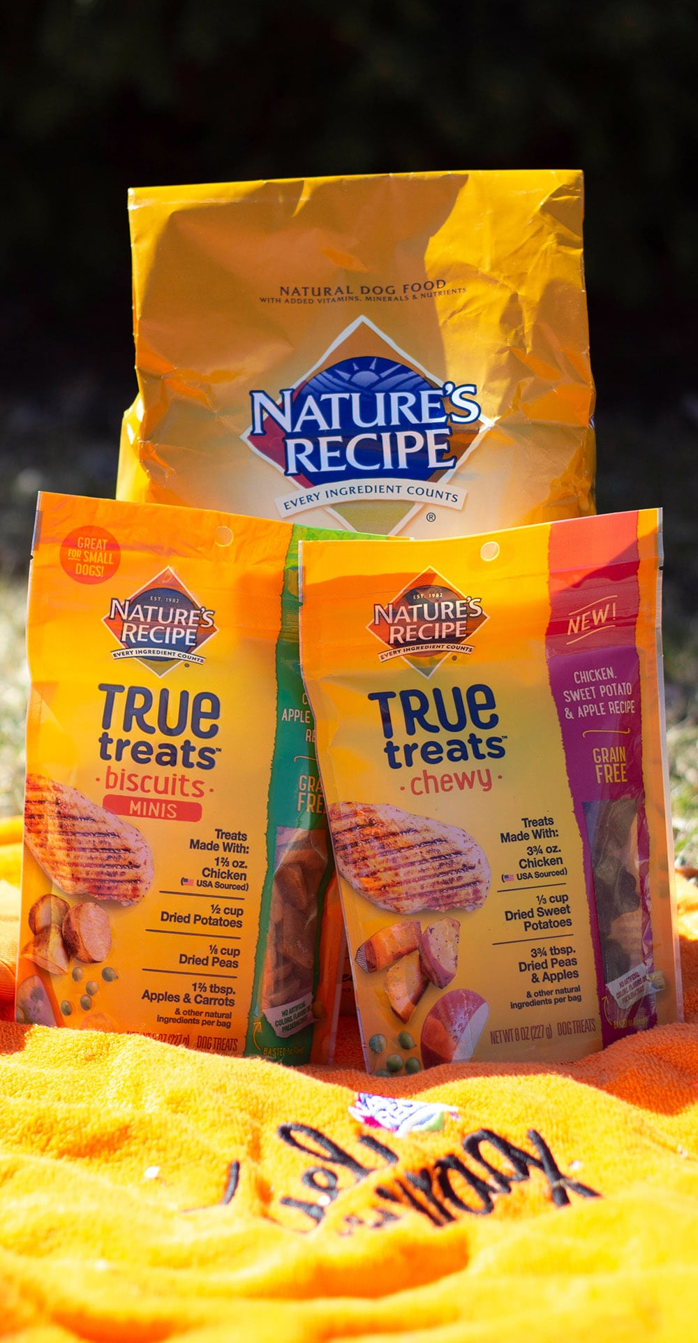Nature's Recipe dog food and treats