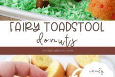 donuts treats that look like toadstools