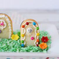Adorable Fairy Door Cookies