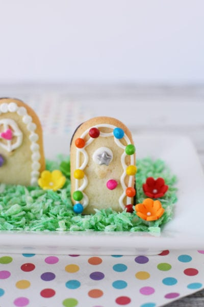 Adorable Fairy Door Cookies