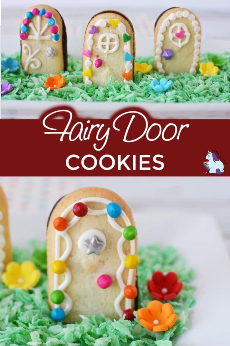 Fairy door cookies