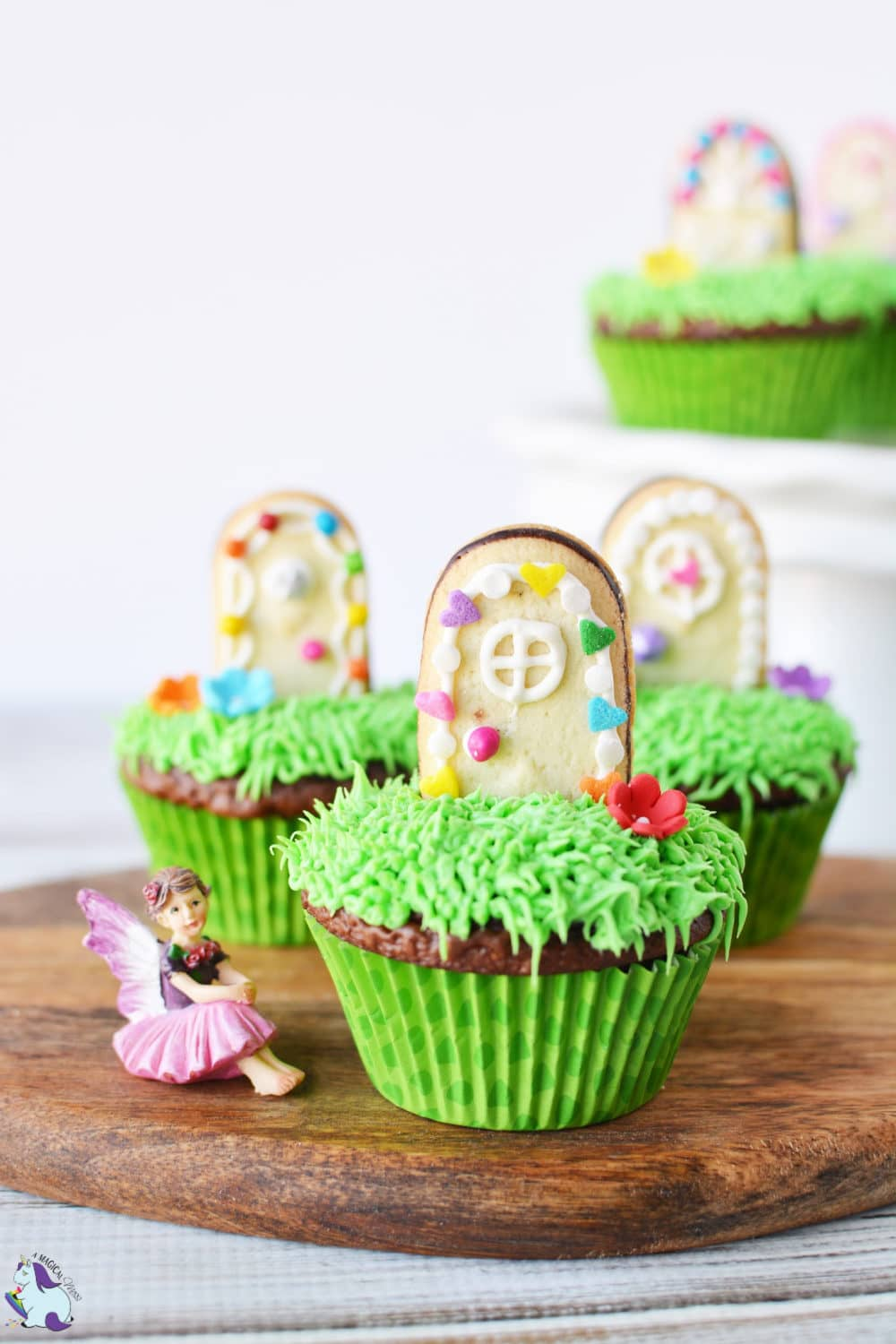 Enchanted magical door cupcakes