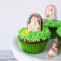 Pretty magical door cupcakes
