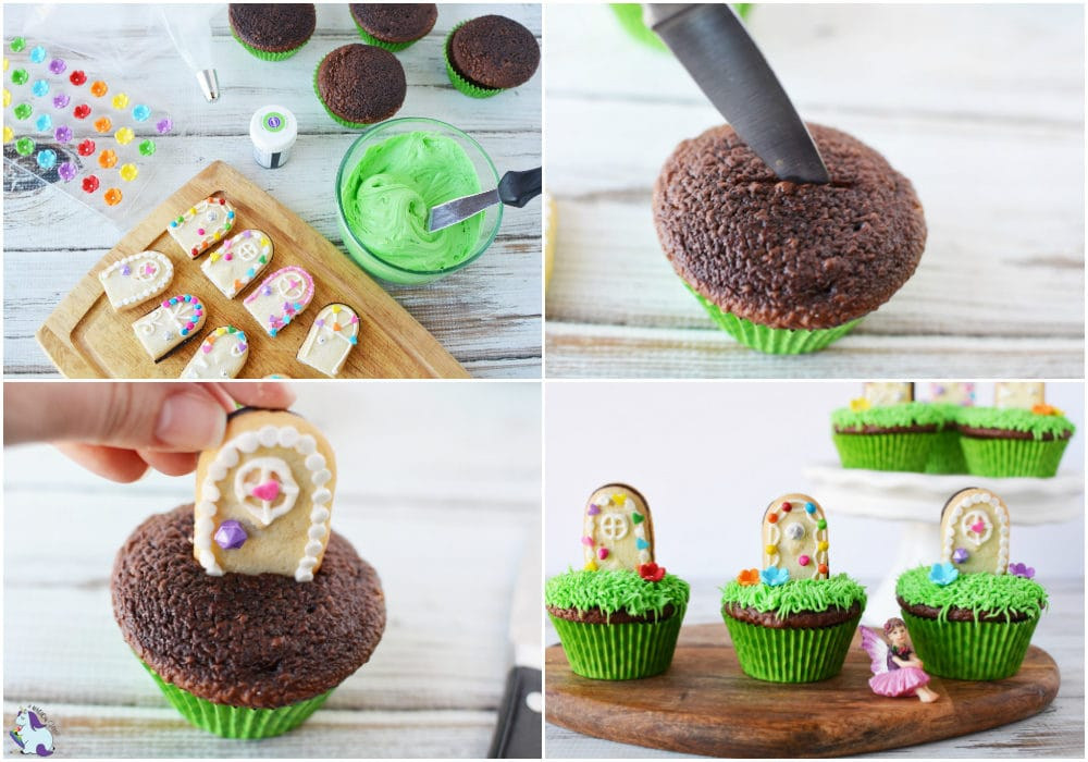 Magical door cupcakes recipe steps