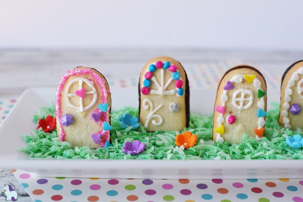 Magical fairy door cookie recipe