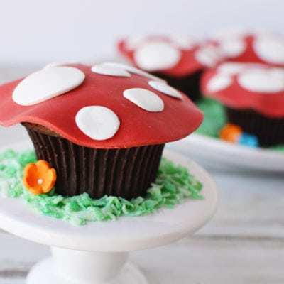 Magical Fairy Toadstool Cupcakes