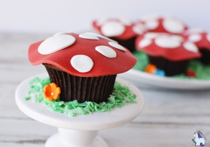Magical Fairy Toadstool Cupcakes