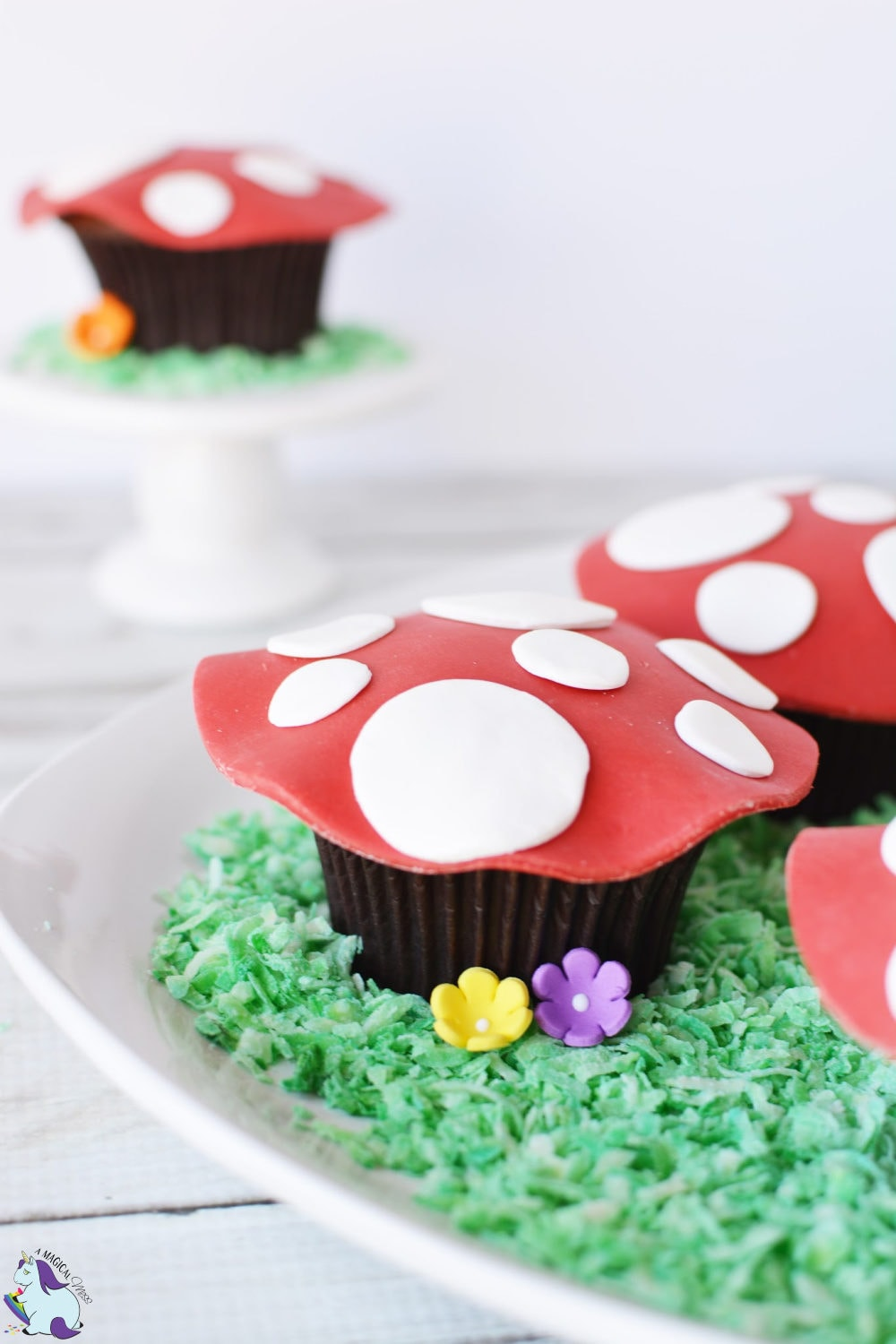 Woodland Fairy Toadstool Cupcakes