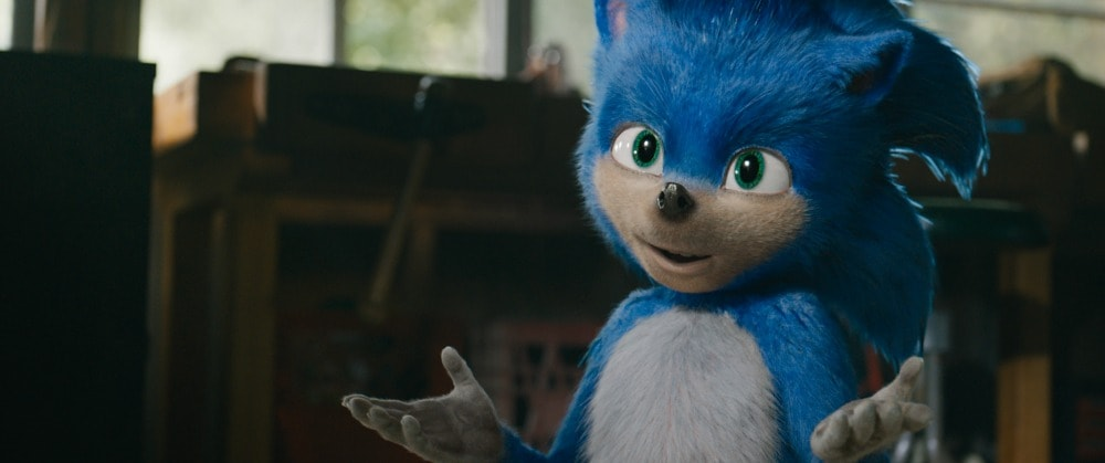 Ben Schwartz voices Sonic in SONIC THE HEDGEHOG from Paramount Pictures and Sega. Photo Credit: Courtesy Paramount Pictures and Sega of America.
