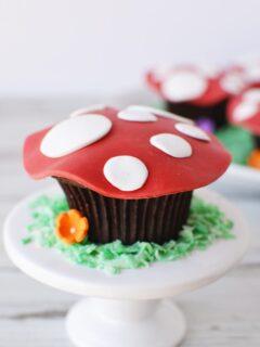 Toadstool Cupcakes recipe