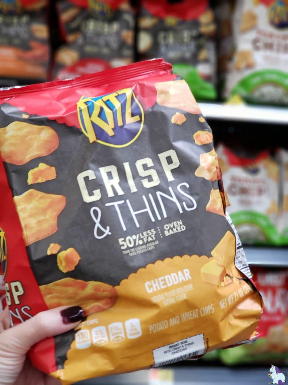 RITZ Crisp and Thins in Walmart