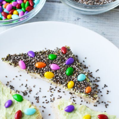 Magical fairy bread with a savory twist