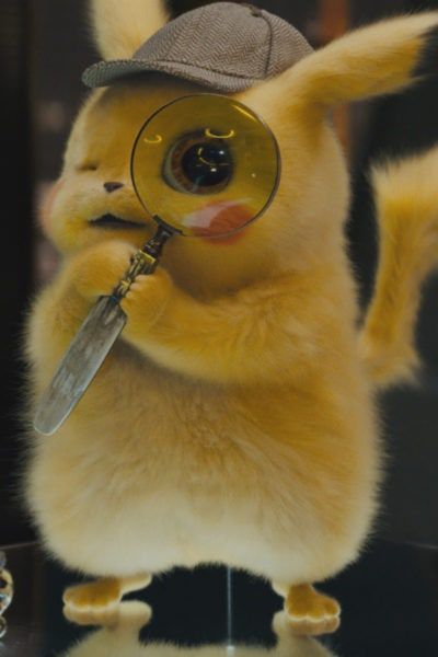 "Detective Pikachu Movie Review - (RYAN REYNOLDS) in Legendary Pictures', Warner Bros. Pictures' and The Pokémon Company's comedy adventure ""POKÉMON DETECTIVE PIKACHU,"" a Warner Bros. Pictures release."