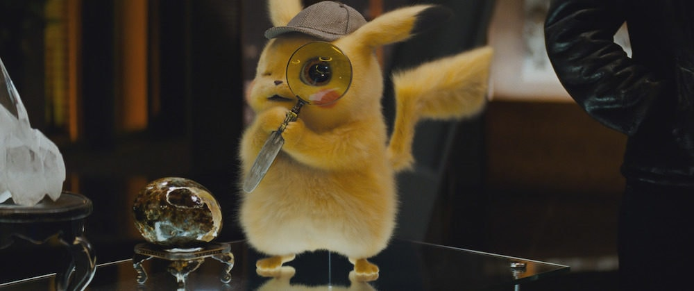 "Detective Pikachu (RYAN REYNOLDS) in Legendary Pictures', Warner Bros. Pictures' and The Pokémon Company's comedy adventure ""POKÉMON DETECTIVE PIKACHU,"" a Warner Bros. Pictures release."