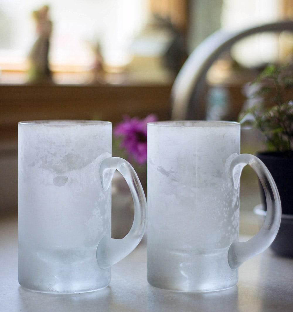 Frosty mugs
