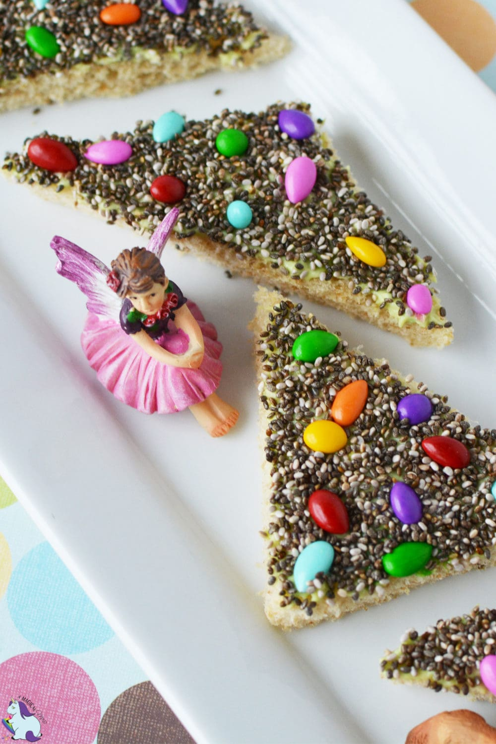 Better for you fairy bread