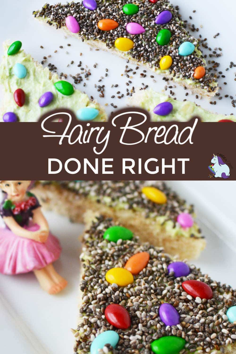 A twist on Fairy Bread